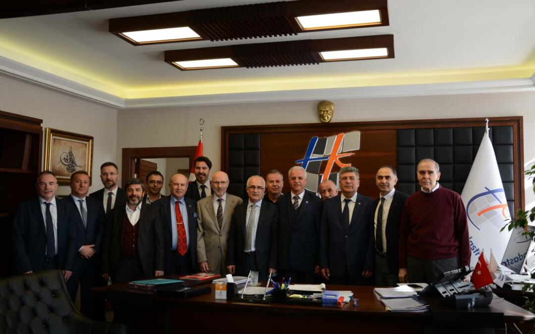 HARMIAD visits the Director of the General Directorate of Land Affairs and Cadastre in Turkey