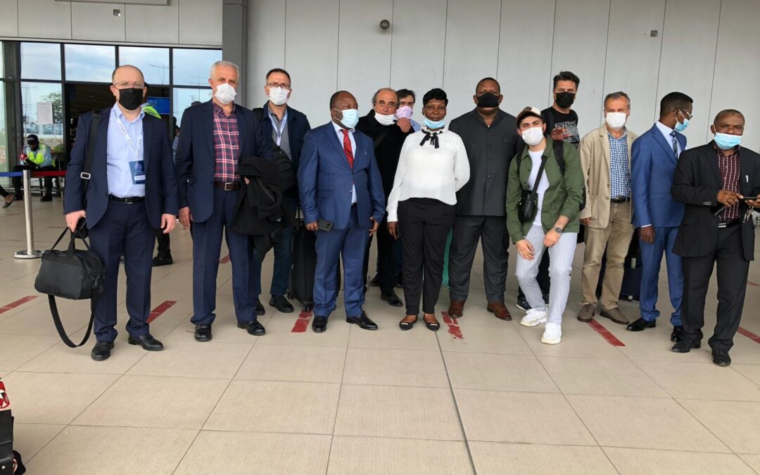 HARMIAD arrives in Kinshasa, the capital of the Democratic Republic of the Congo