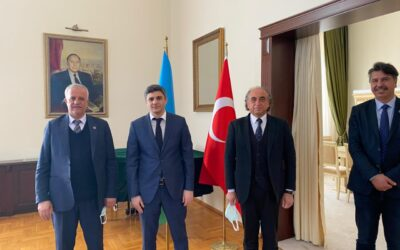Meeting at the Embassy of the Republic of Azerbaijan in Ankara